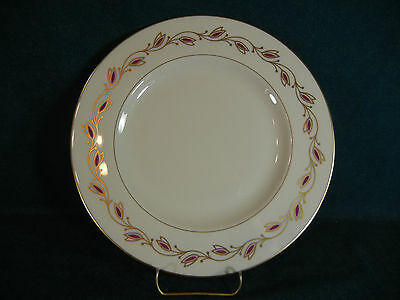 Pickard Symphony Red 1077 Gold Trim Dinner Plate(s)