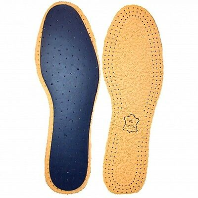 Leather Insoles in All Mens Sizes TOP QUALITY