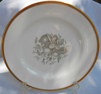 Spode Chatham Fruit Dinner Plate S No 5 Gold Trim Y5280