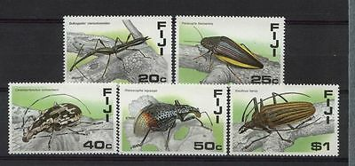 Fiji 1987 SG#761-5 Insects MNH Set