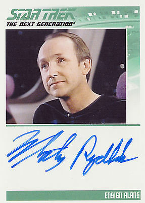 Complete Star Trek TNG Series 1 Whitney Rydbeck Autograph Card