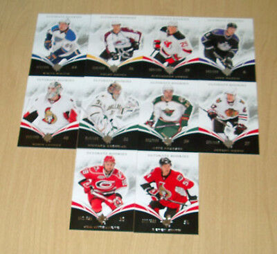 10-11 Ultimate Collection Rookie 10-card lot/399 Lehner