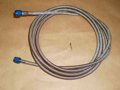 Nitrous Oxide Line #4 15ft Stainless Steel Braided