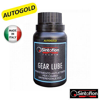 SINTOFLON GEAR LUBE additivo PTFE Teflon CAMBIO Manuale DIFFERENZIALE  Autogold