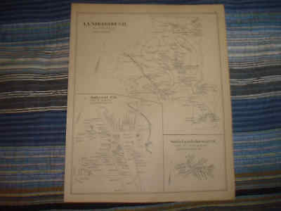 1892 Antique Lyndeborough Amherst New Hampshire Map Nr