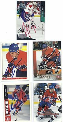 Peter Popovic Signed Hockey Card Montreal 1993  Premier