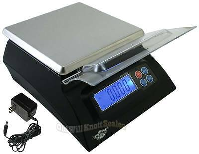 My Weigh KD-7000 DIGITAL KITCHEN/FOOD/SOAP MAKING SCALE 15# Stainless Steel +AC