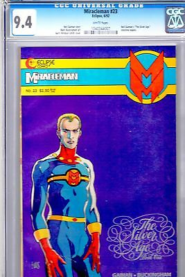 Miracleman 23 Eclipse Gaiman Windsor-Smith RARE CGC 9.4 FREE UK POST
