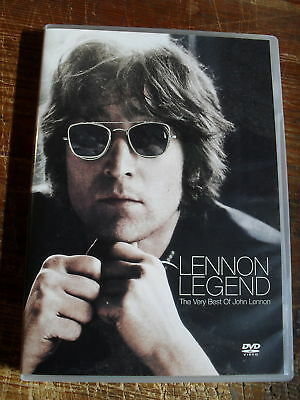 """ John  Lennon ""  Legend - The Very Best  Dvd"