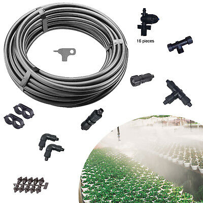 Outdoor Patio Fog Misting Cooling System Mist Nozzles