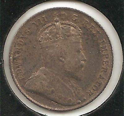 1907 VERY FINE Canadian Ten Cents #1
