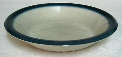 1960s Wedgwood Cereal Soup Bowl Blue Pacific
