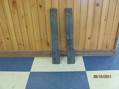 Set Replacement Rotary Mower Blades, Most 5' Models Howse, King Kutter