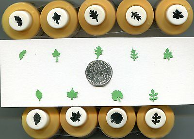 Mini LEAF Shape Paper Punches Many Styles 2 Choose From Quilling-Scrapbook-Card