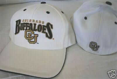 COLORADO BUFFALOES HAT 7 1/4 CAP NEW NWT FITTED