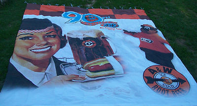 "A&W 90th Anniversary 3 Piece Banner Set  210"" X 190"""