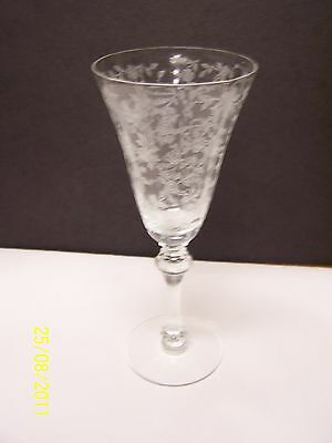 Tiffin Glass Cerice Water Goblet