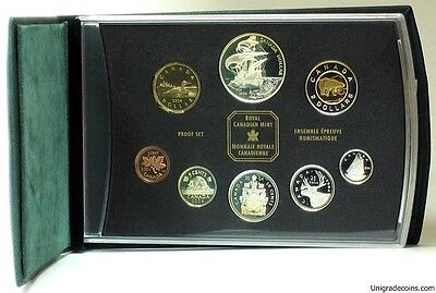 Canada  2004   Proof Double Dollar  Set  ***8 Coins***