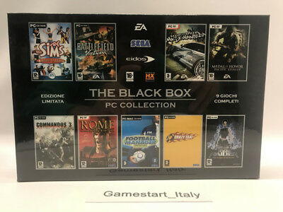 Rome Total War + Battlefield + The Sims + Tomb Raider - Pc Computer - Nuovo New