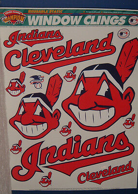 New Official Cleveland Indians Window Clings