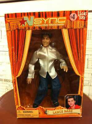 Nsync Collectible Marionette -  Lance Bass Doll