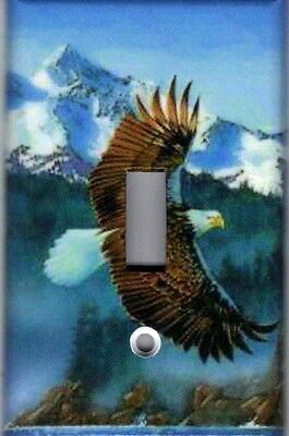 Eagle Home Wall Decor Light Switch Plate