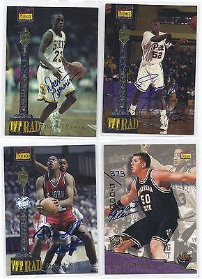 Bryant Reeves Signed Basketball Card Oklahoma St. 1995
