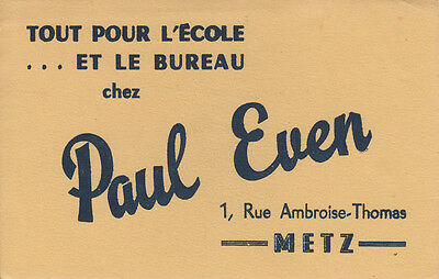 Buvard  Paul Even  Bureau