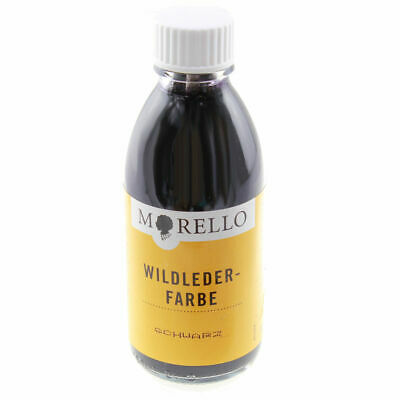 Morello Lederfarbe für Wildleder Velour 100ml