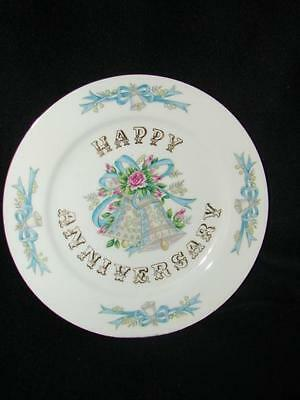 Anniversary Gift ~ Vintage Lefton China Happy Anniversary Porcelain Plate ~ Any