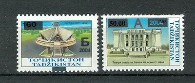 ARCHITETTURA - ARCHITECTURE TAJIKISTAN 2004 Common Stamps