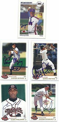 Chris Patten Signed / Autographed Baseball Card Mudville Nine 2000