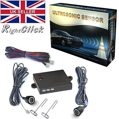 Ultrasonic 2x Sensors / Detectors For Car Alarm USSBLK