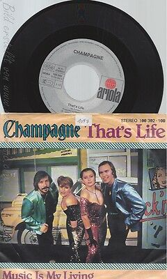 "7"" Champagne-- Thats Life"