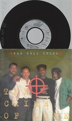 "7"" The Real Thing --The Crime Of Love"