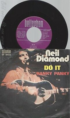 "7"" Neil Diamond -- Do It"