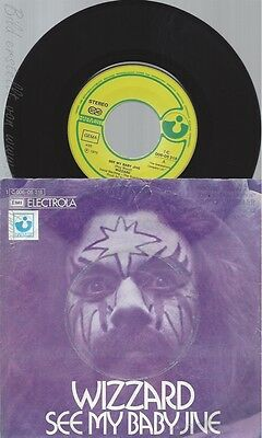 "7"" Wizzard-- See My Baby Jive"