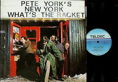 Lp--Pete York's  New York -- Whats The Racket