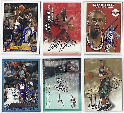 Antonio Daniels Signed / Autographed Basketball Card Vancouver 1998 Skybox
