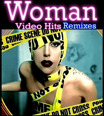 Promo Video Compilation DVD Woman Video Hits Remixes! Hottest Remix Disc on Ebay