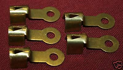 Brass Spark Plug Wire Ends Clips Crimp terminals fits Maytag Briggs Hit & Miss