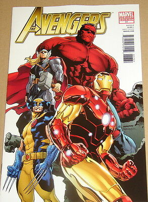 Avengers # 17 - Cover B (1:26) Variant - Fear Itself