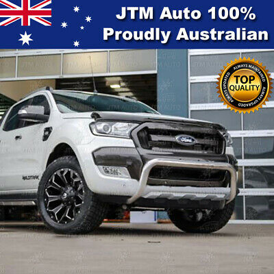 """Ford Ranger PX MKII Nudge Bar 3"""" Stainless Steel Suits Tech Pack & Sensor"""