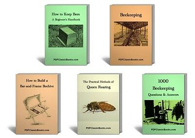 10 Beekeeper Beekeeping Books Make Beehive Keep Bees CD