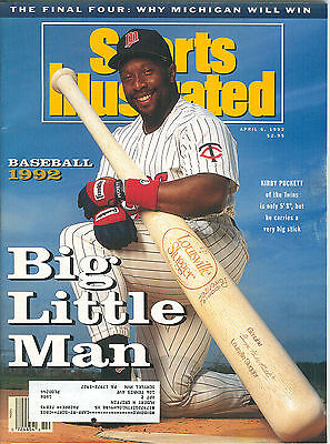 Sports Illustrated April 6, 1992 MLB Preview Kirby Puckett