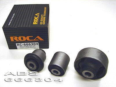 ROCAR Front Upper /& Lower Control Arm Bushing Fits LS460 07-12 666399 666400 8pc