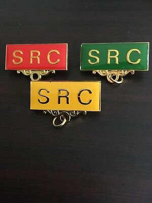SRC School Metal Badge Pin Choose from 4 colour Student Representative Council