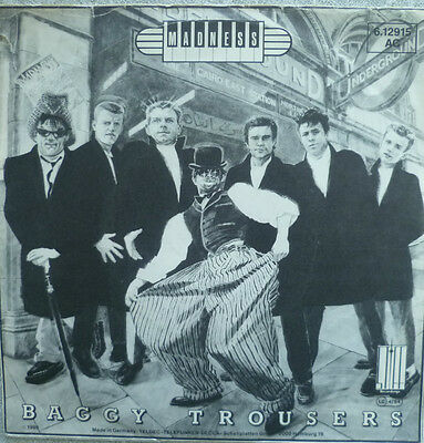 "7"" 1981 KULT SKA ! MADNESS : Baggy Trousers // MINT- \"