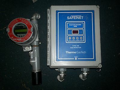 SafeTnet Gastech 72-1300 Type 100 & Thermo Gas Tech FX-SMT Gas Monitor   (Y4)