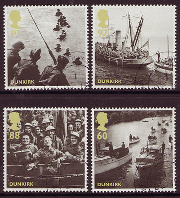 Great Britain 2010 Dunkirk Additional Set Of 4 Fine Used